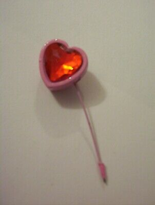 Pink And Red Heart Pin Stick Chunky On A Stick Pin Wire