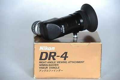 Nikon Dr-4 Right-Angle Viewing Attachment Boxed