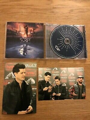 The Script 'Sunsets and Full Moons' SIGNED CD Album plus photos