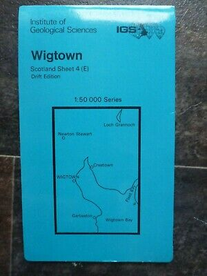 Wigtown Drift Edition Institute of Geological Sciences Map (1: 50 000)