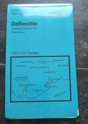 Institute of Geological Sciences Dalbeattie Solid Edition Map (1: 50 000)