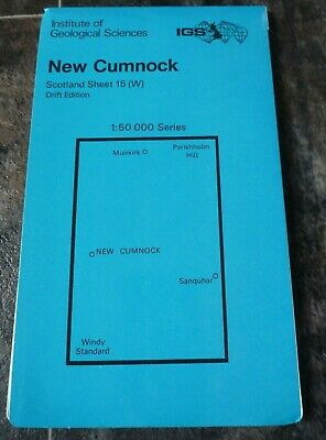 Institute of Geological Sciences New Cumnock Drift Edition Map (1: 50 000)