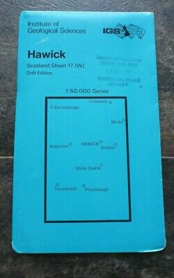 Institute of Geological Sciences Hawick Drift Edition Map (1: 50 000)