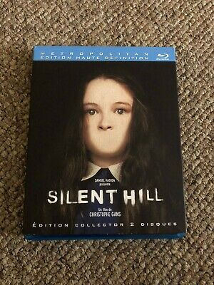 Silent Hill Movie French Bluray with 4 different slip covers, 2 discs
