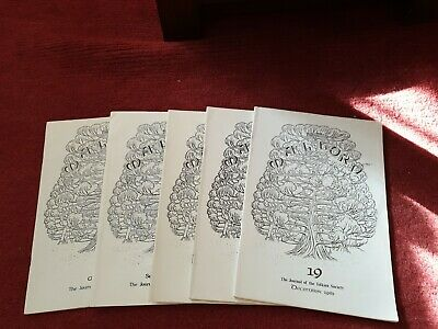 Malforn - The Journal of The Tolkien Society - 5 copies