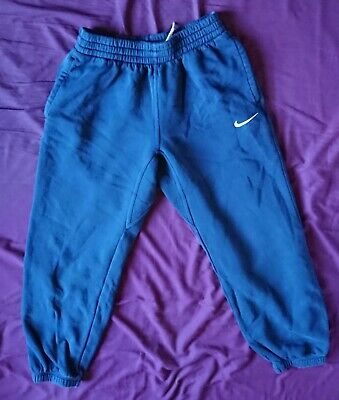 Navy Blue Nike Tracksuit Jogging Bottoms Age 12-13 Years