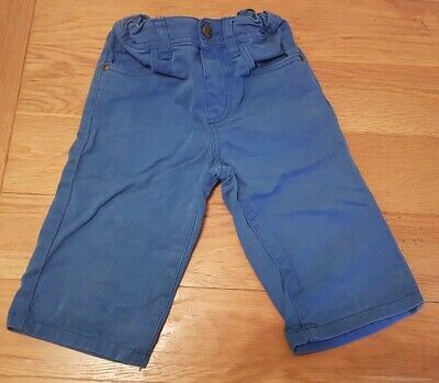 Boys blue shorts pockets and adjustable waist age 5-6 years primark