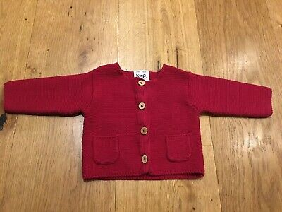 Baby Girl Kite Knitted Cardigan 0-3 Months