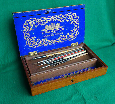 An Old Winsor & Newton Artists Paintbox