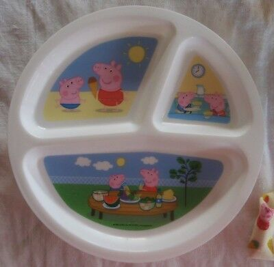 Peppa Pig bowl and plate