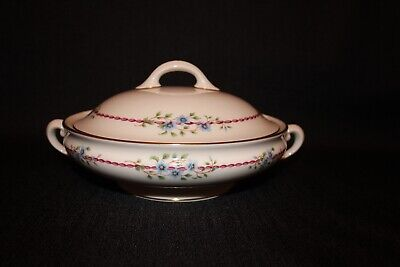 Rare LENOX BELVIDERE Round Covered Vegetable Casserole Dish