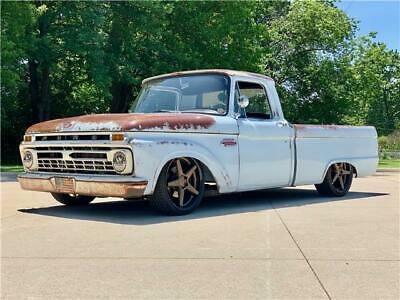 1966 Ford F-100 2 DOOR 1966 FORD F100 2 DOOR BLUE PICKUP 4.6L SUPERCHARGED V8 Automatic