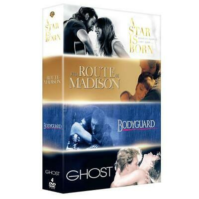 DVD Neuf - A Star Is Born Ghost Sur la route de Madison Bodyguard - Lady G