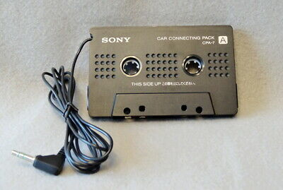 Sony CPA-7 Car Connecting Cassette Tape Adapter EUC Tested!