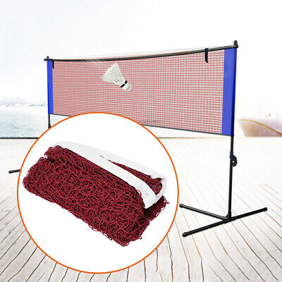 Standard Badminton Net Indoor Outdoor Sports Volleyball Competition Portable