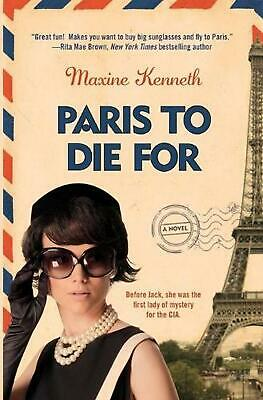 Paris to Die for by Maxine Kenneth (English) Paperback Book Free Shipping!