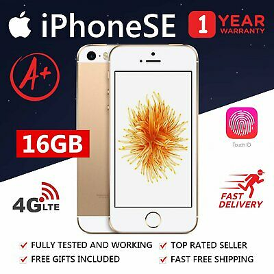 Apple iPhone se / 16GB / Gold / Grade A / Refurbished / Unlocked