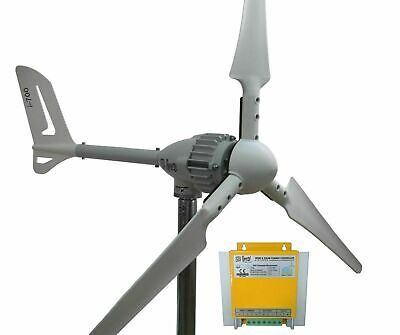 Set i-700W 12V Windgenerator + Hybrid Laderegler Ista-Breeze