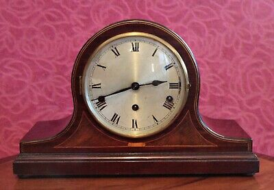 Vintage German 8-Day Mantel Clock with Westminster Chimes