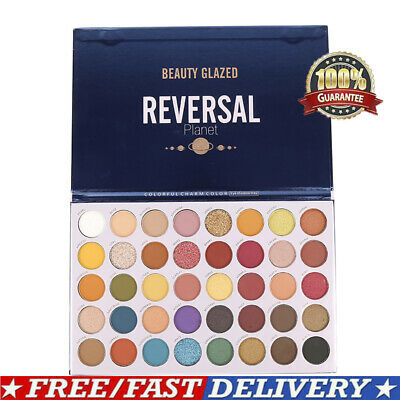 Beauty Glazed 35Color Pearlescent Matte Eyeshadow Palette Eye Shadow Cosmetic US