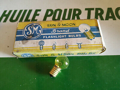 N.O.S 10 ampoule lampe 6V 6W  1A mobylette velo MOTO VOITURE ampoules