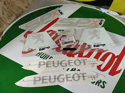 N.O.S Kit deco decalque PEUGEOT 103 SPX  mobylette