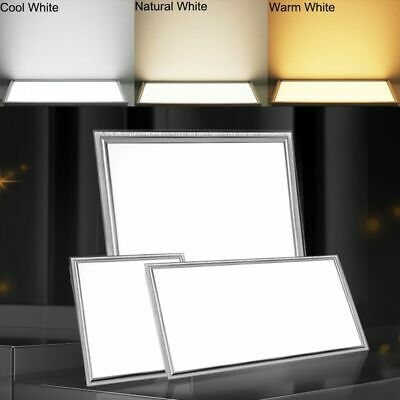 LED Recessed Panel Light Suspended Office Shop Ceiling Lighting 300x1200 600x600