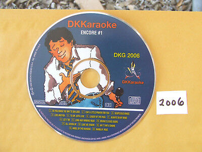 DK Karaoke DKG 2006 Encore #1 Made in USA Out of Print Very Good Condition