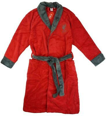 Liverpool FC Mens Dressing Gown Bathrobe 100% Official Soft Fleece S M L XL