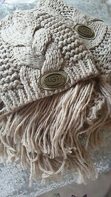 Ugg hat and scarf