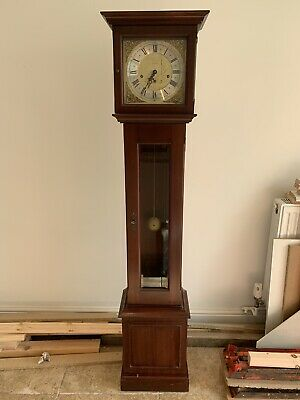 Metamec Clock Long Case Grandaughter Clock Circa 1970