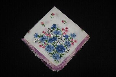 Antique/Vintage Handmade Ladies Hankerchiefs