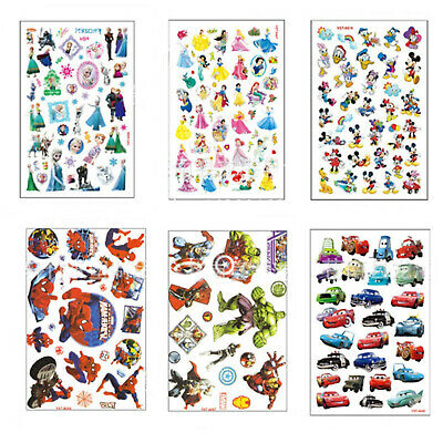 Childrens Boys Girls Temporary Tattoos Kids Loot Party Bag Fillers Stickers