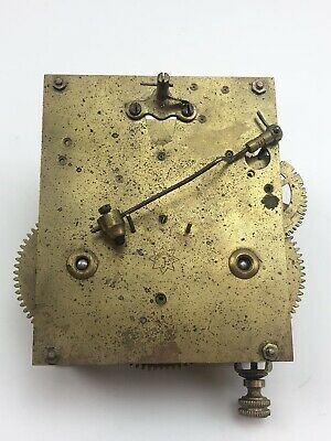 JUNGHANS GERMAN clock movement mechanism FOR PARTS OR REPAIR