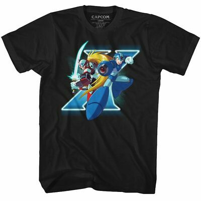 Mega Man - X And Zero - American Classics - Adult T-Shirt