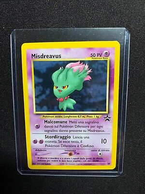 Carta Pokemon Misdreavus N39 Wizards Black Star Promo Mint! Real Photo !