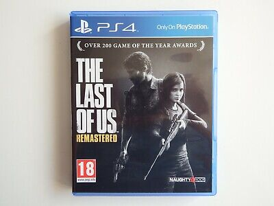The Last of Us: Remastered on PS4 in MINT Condition
