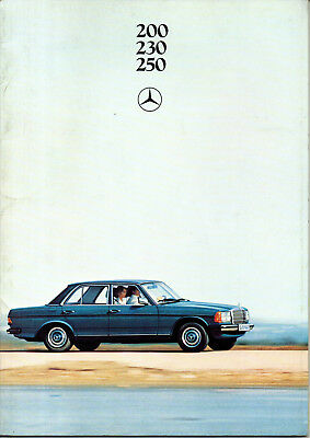 Depliant brochure catalogue MERCEDES 200 230 250