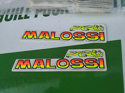 N.O.S decalque autocollant MALOSSI mobylette scooter motobecane mbk peugeot