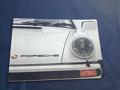 PORSCHE commercial booklet 1977 911 CARRERA TURBO FRANCE genuine commercial