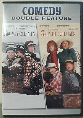 grumpy old men & grumpier old men  Walter Matthau Jack Lemmon Region 1 DVD
