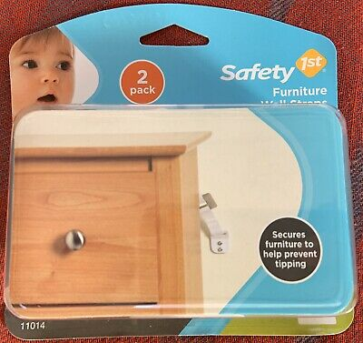 Safety 1st Furniture Wall Straps Baby Wall Straps