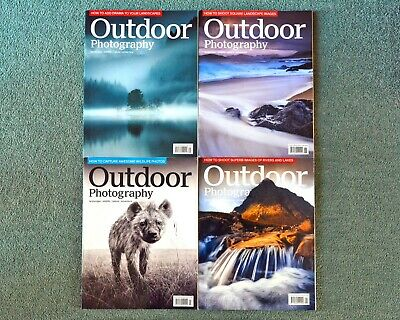 4 No. Outdoor Photography Magazines (2019)