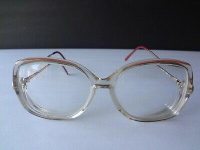 Gucci Vintage Retro Eye Glasses GG 2304 Frames Wide Butterfly Classic Lens Italy