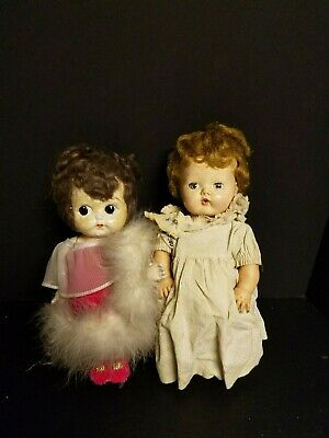 Vintage Lot of 2 Dolls - American Character Doll & other B3