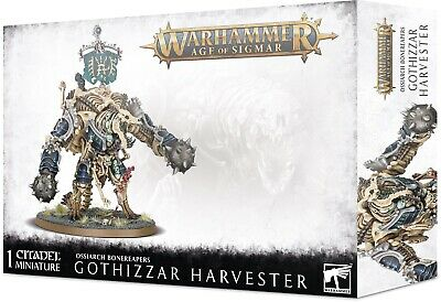 Grand Alliance: Death Ossiarch Bonereapers Gothizzar Harvester