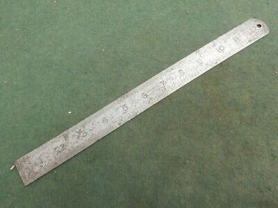 Hockley Abbey 12 inch Engineer's Ruler. No 1731