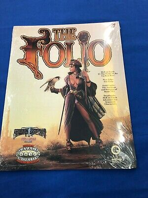 The Folio Dead Lands Hell on Earth Savage Worlds Art of the Genre #7 NEW SEALED