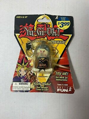 Yu-Gi-Oh Keychain 1996 Series 1 Exodia The Forbidden One #1120 Basic Fun OOP NOS