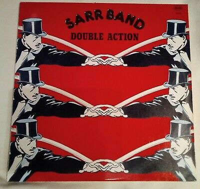 Sarr Band - Double Action Portugal PS 1979 Rare Soul Funk Disco Boogie